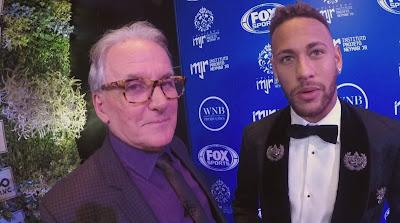 O apresentador e Neymar na sexta (Divulgação/SBT)