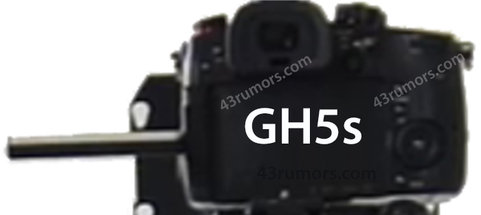 Новая камера Panasonic Lumix, вид сзади