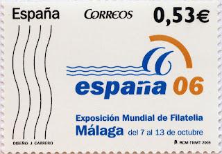 EXPOSICIÓN MUNDIAL DE FILATÉLIA