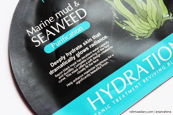 Review Sheet Mask Marine Mud & Seaweed