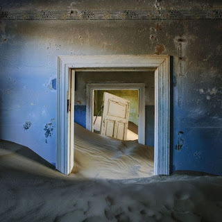 Casa abandonada en Namibia