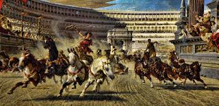 Carrera de carros - hipódromo romano