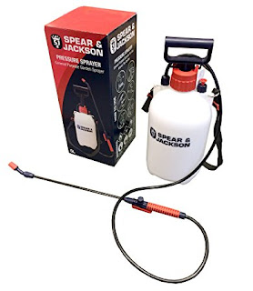 Droprates Spear & Jackson 5 litre Pump Action manually Pressure Sprayer £7.36 (prime