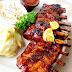 Steak Iga Babi, Grilled Pork Ribs, 烤排骨