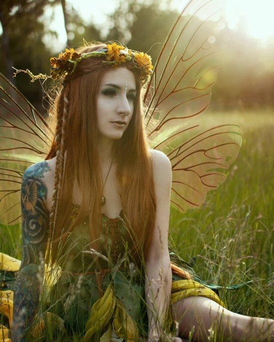 Merle Harms kristalkind instagram arte fotografia mulheres modelos fashion fantasia magia sereias fadas