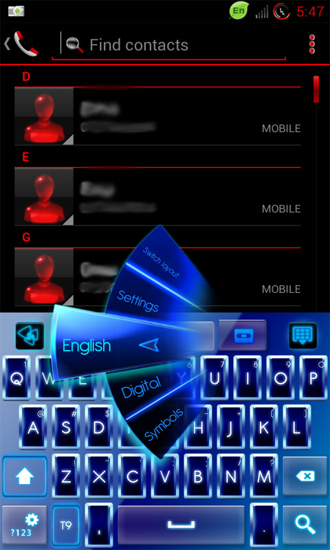 Go Keyboard : Android App Free Download - Free Mobile Apps, Games