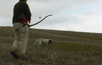 caza tiro con arco