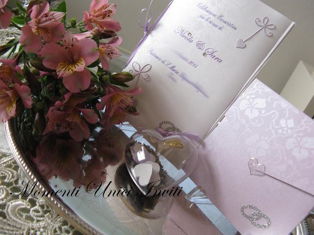 IMG_6022 Coordinato nei toni del lilla per Sara e NicolaColore Lilla Coordinati a tema Tema cuori