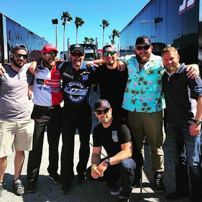 Jeffrey Earnhardt's 2017 #NASCAR Monster Energy Cup Series Debut