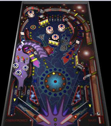3d Movie Image 3d Pinball Space Cadet