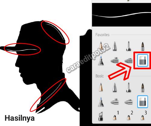 Autodesk Sketchbook Tutorial - Menciptakan Foto Siluet Keren Di Android