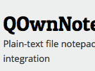Download QOwnNotes Offline Installer