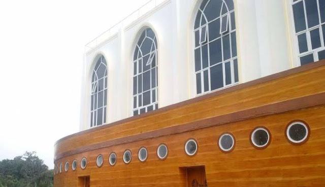 Masjid Kapal Nabi Nuh Wasiat Suci Saudagar Emirat Arab