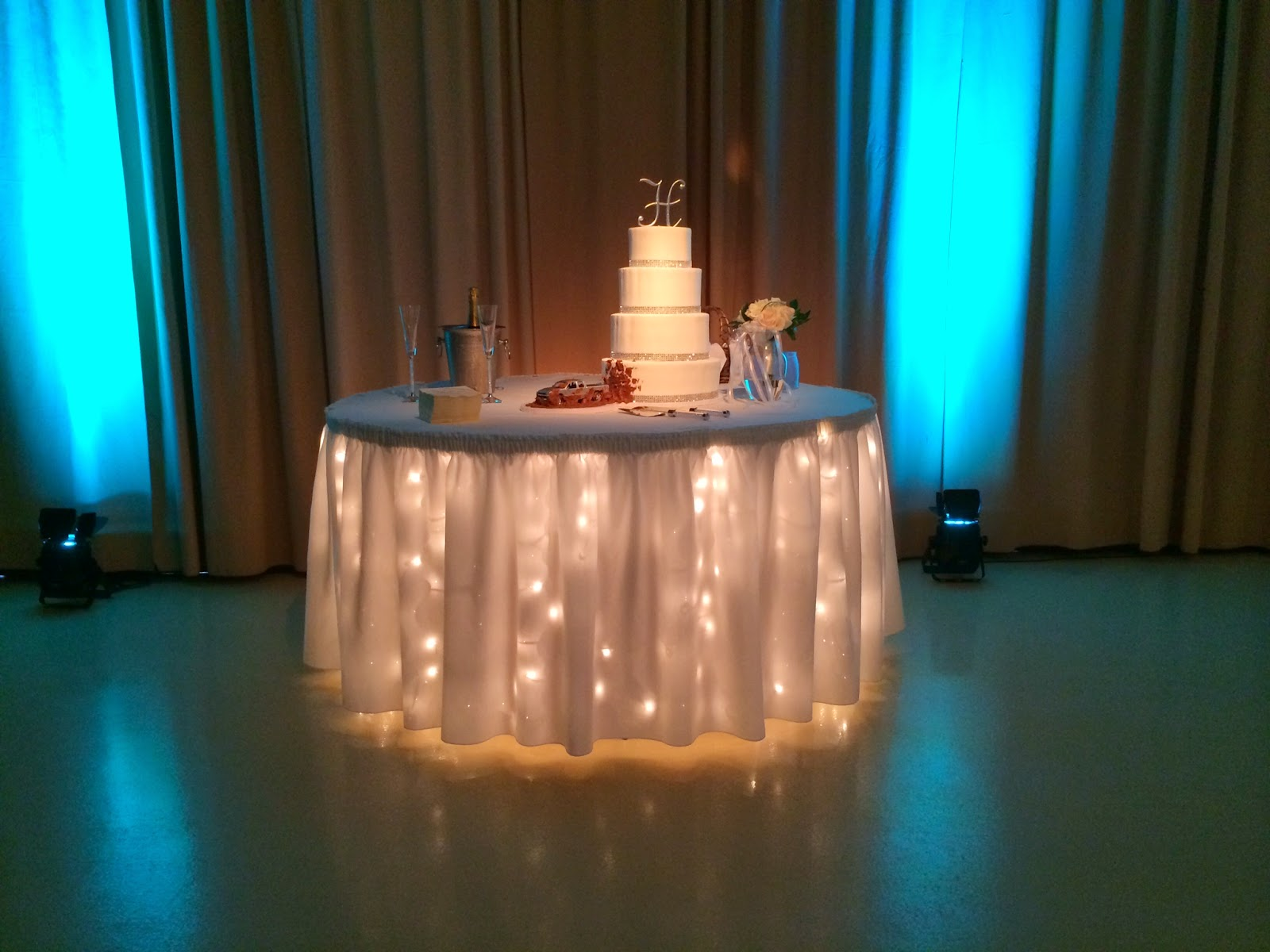 Under The Table Lights #10 - No Rain On Our Parade T S Farm Weddings
