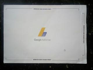 menjemput surat PIN dari google adsense di kantor pos