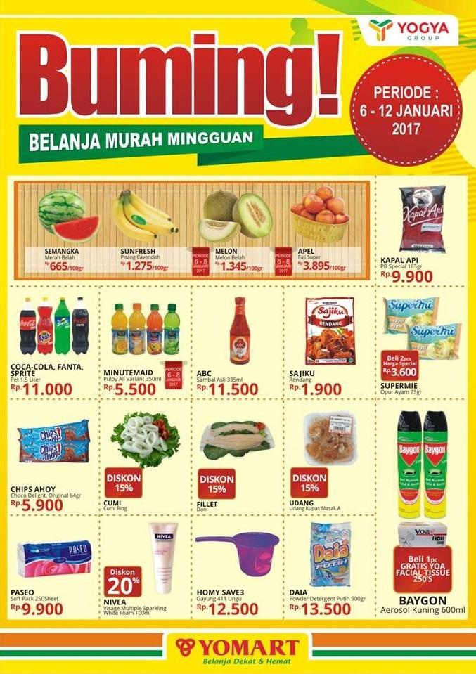 Katalog Harga Promo Yomart 6 – 12 Januari 2017