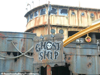 Morey's Piers in Wildwood - Ghost Ship