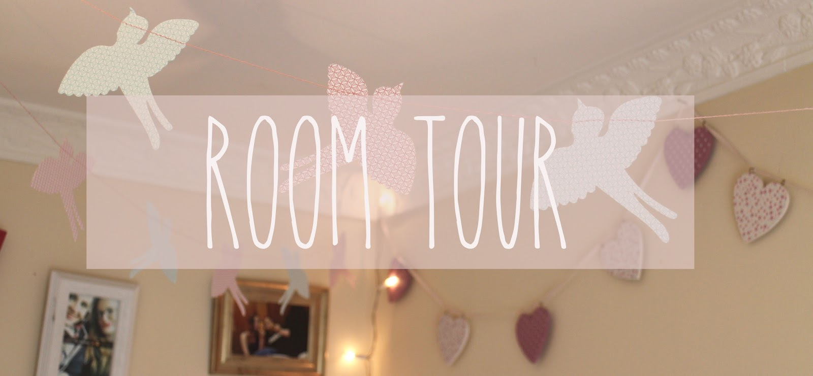room tour blog post