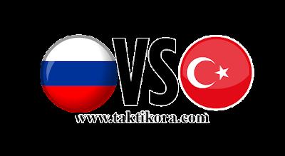 روسيا وتركيا بث مباشر اليوم