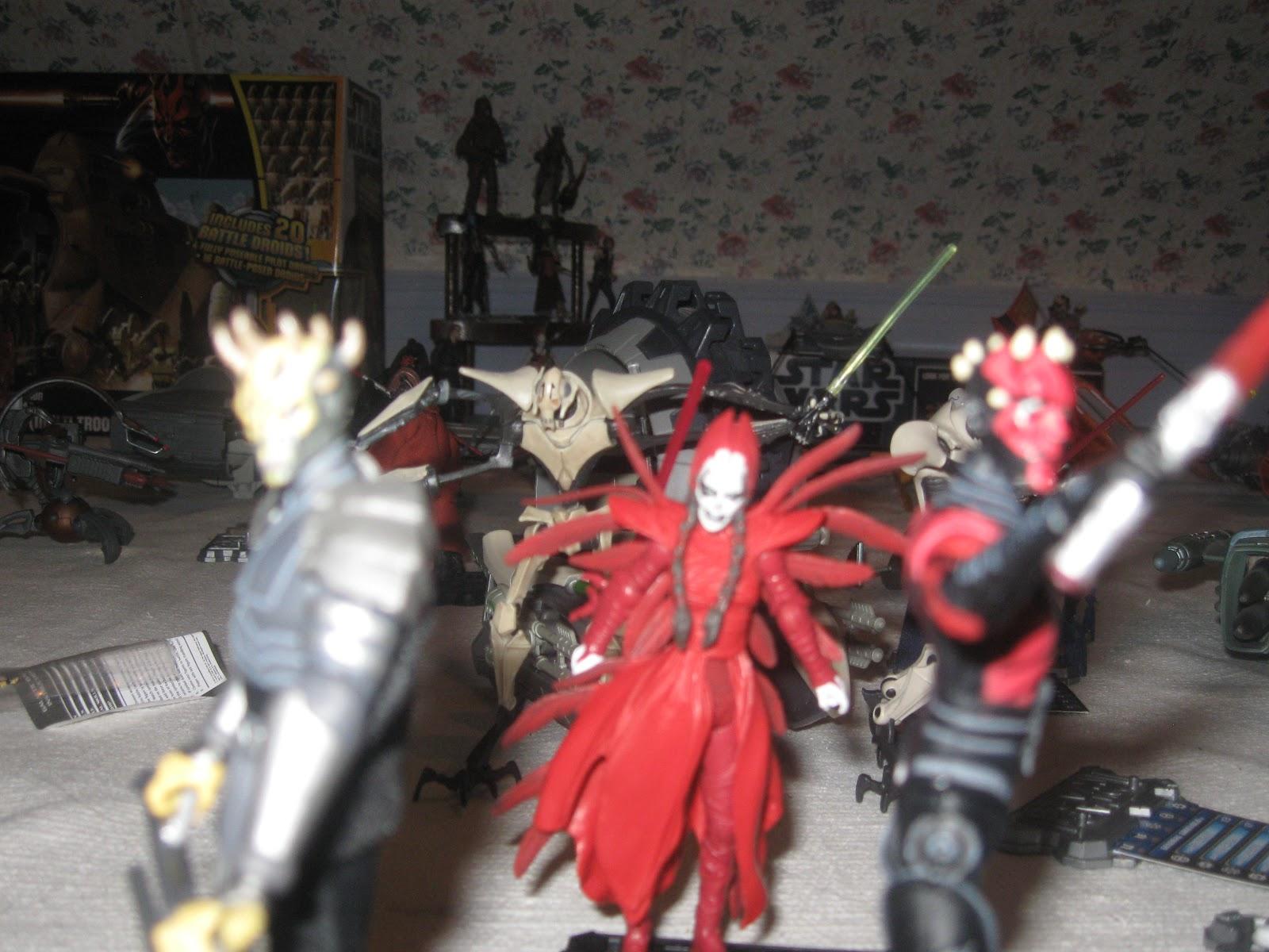 Wars Opress Figure Savage Star Clone Wars