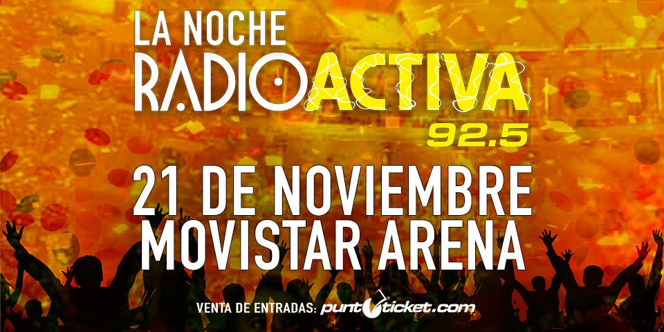 La Noche Radioactiva 92.5 en Chile