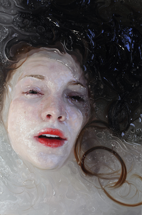 Alyssa Monks Hyper realistic Paintings