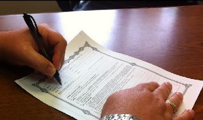 Firmando seguro