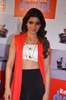 Samantha Ruth Prabhu at Reliance Fresh Mall