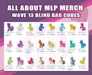 All About MLP Merch - Wave 13 Blind Bag Codes