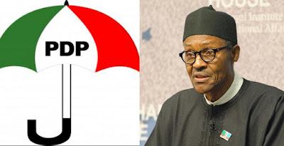 Buhari and pdp