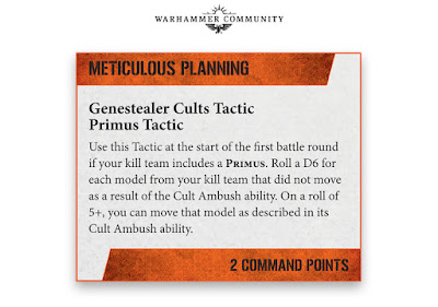 Tacticas Comandantes Cultos Genestealer kill team
