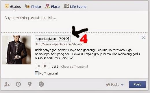 shared link facebook 4