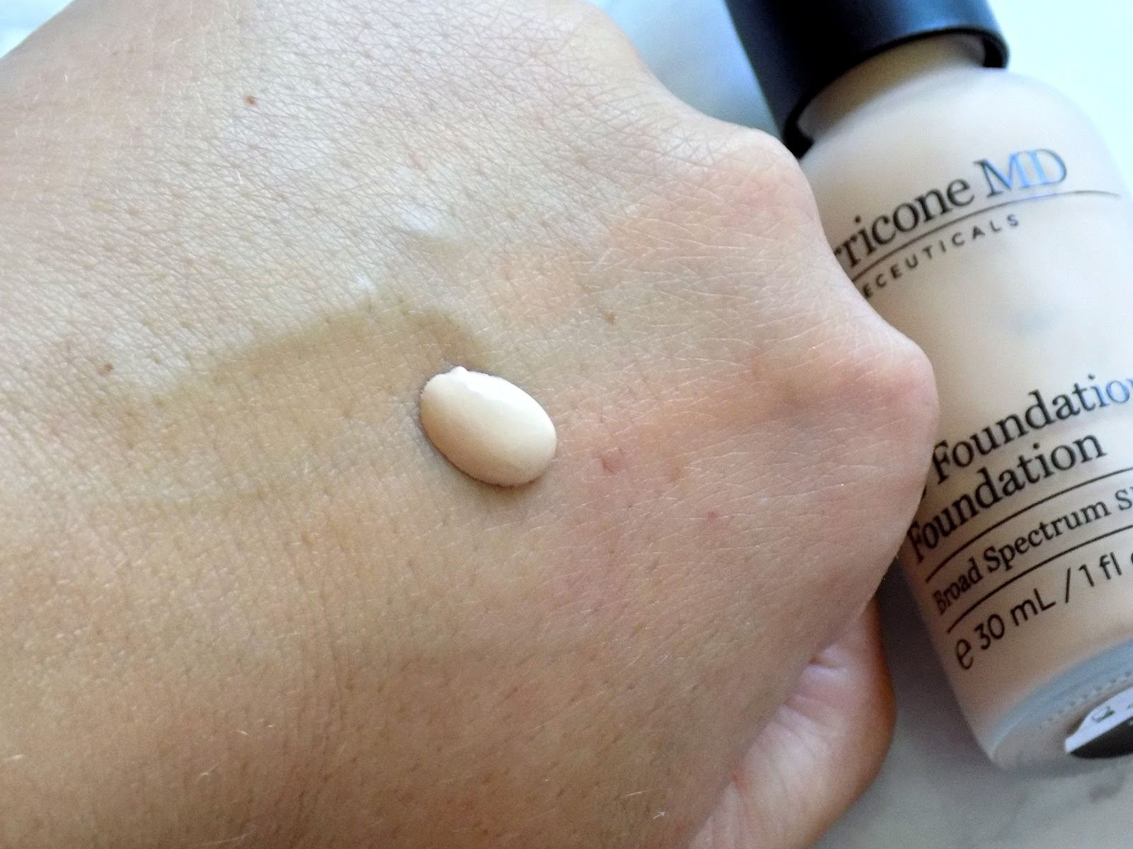 Perricone MD No Foundation Foundation swatch