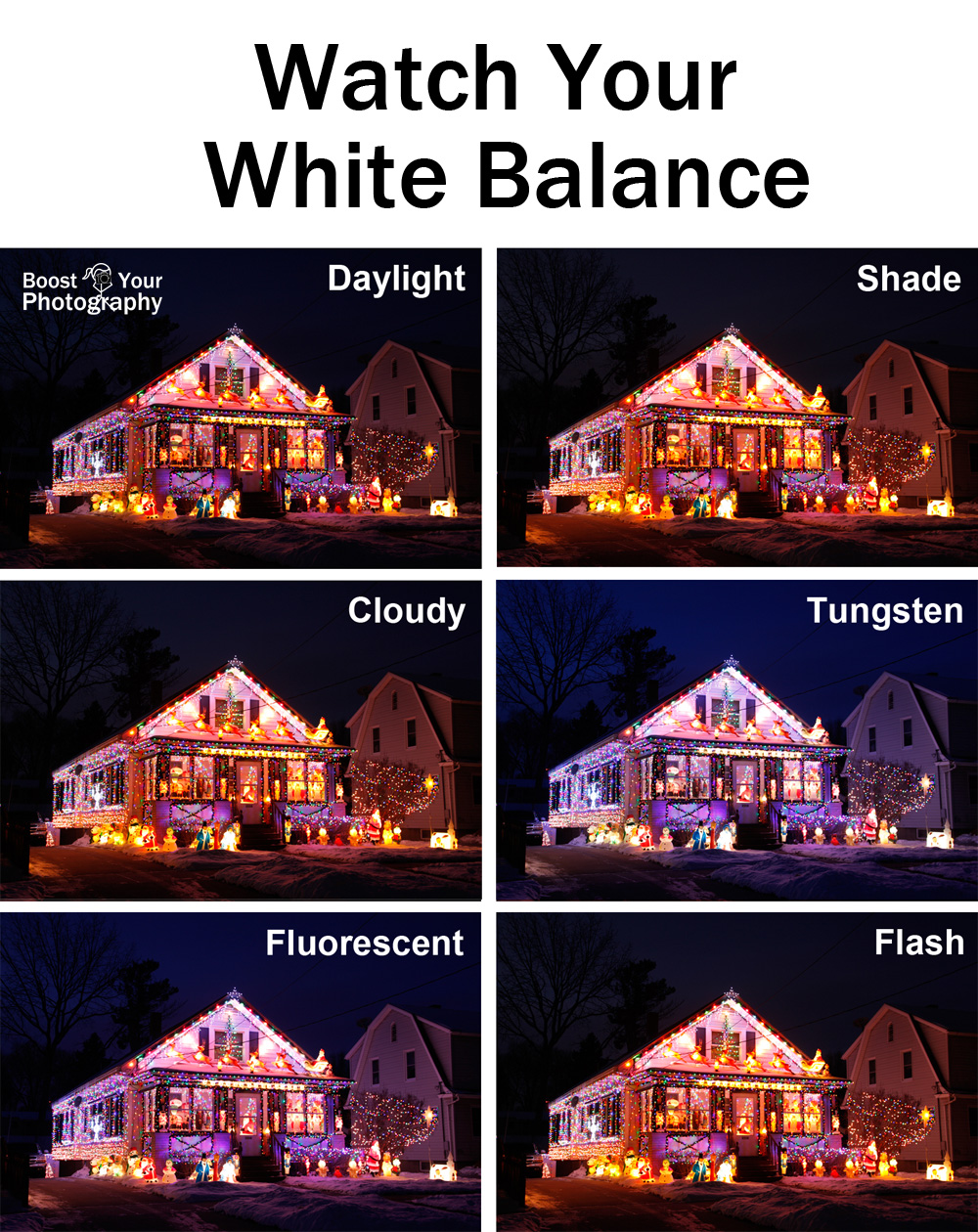 Watch Your White Balance with Holiday Lights | Boost Your Photography