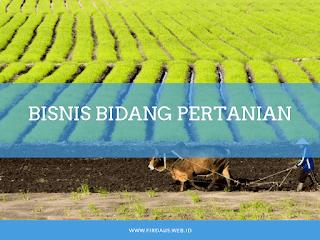 Bisnis pertanian yang menguntungkan