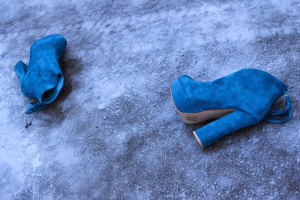 turquoise anlke boots