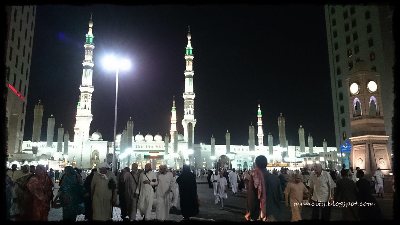 Lalalaland   : Umrah Ramadan : Moreh in Madinah