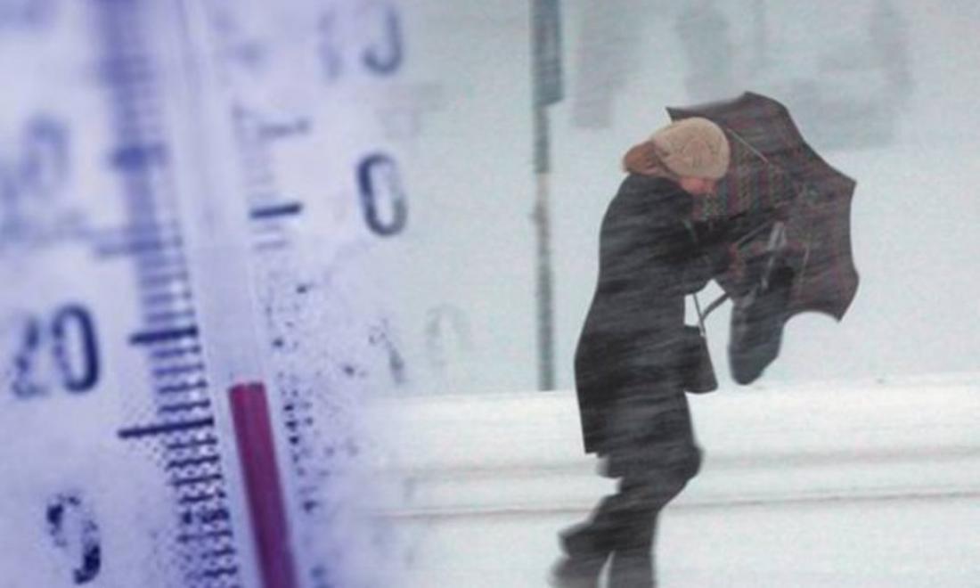 Χειμωνιάτικος θα είναι ο καιρός στην αρχή της εβδομάδας.