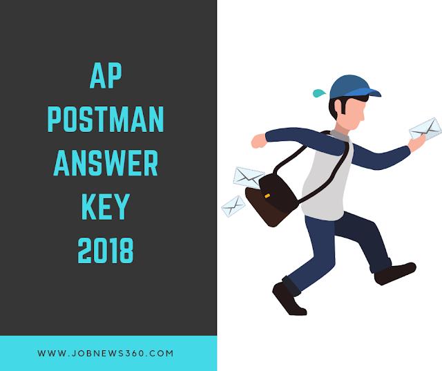 AP Postman Exams Answer Key 2018