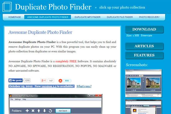 Find Similar or Exact Duplicate Photos 01