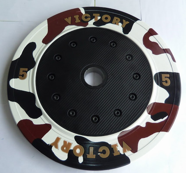 Victory 5kg Bumper Plate | Taiwan Excellence Products