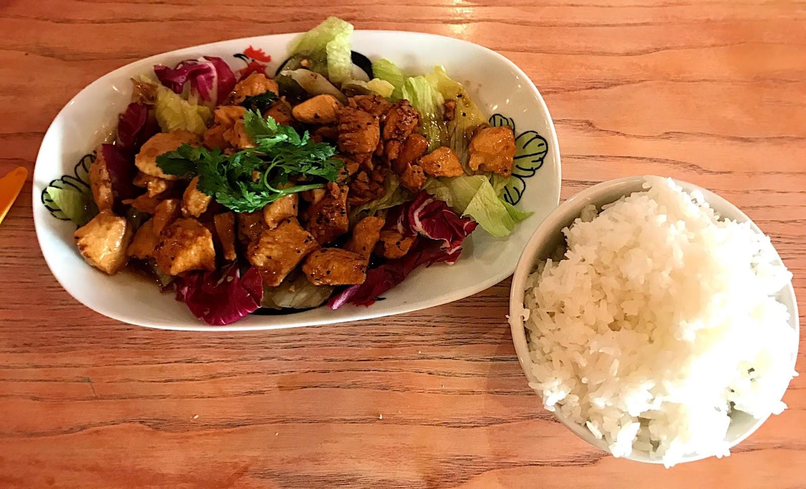 Chicken, Black Pepper and Garlic Stir fry - Thaikhun