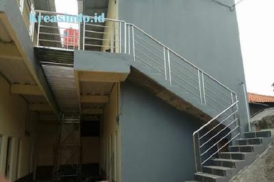 Harga Railing Balkon Stainless Minimalis RKM013