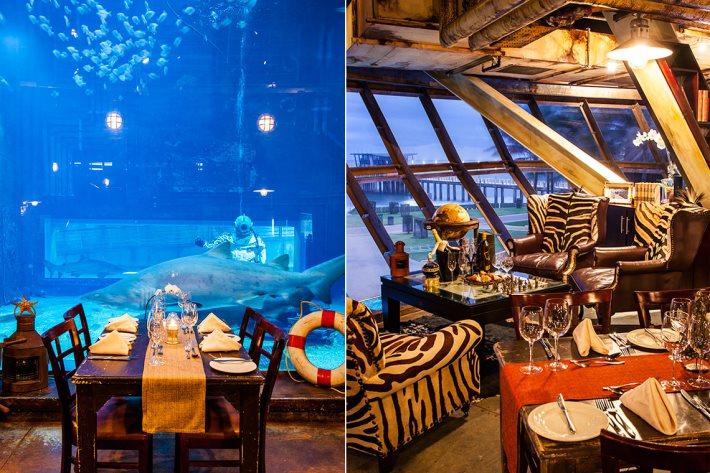 Cargo Hold Restaurant, uShaka Marine World, Durban