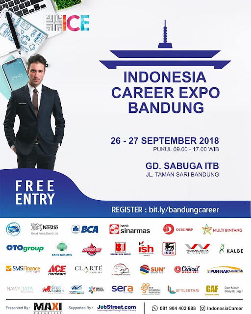 Job Fair Indonesia Career Expo Bandung (Gratis)