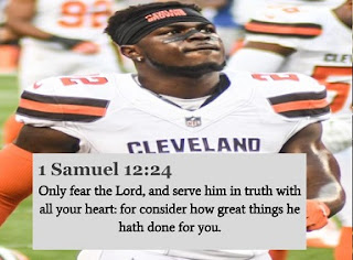 Bible Verses For Football Players