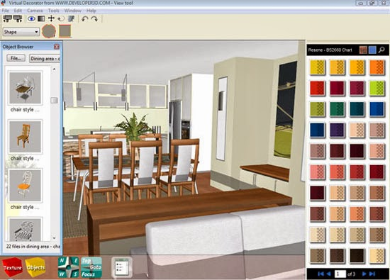 Best Interior Design With Furniture Loaded Software ~ Interior design software