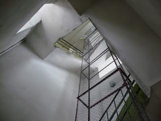 Дрогобич. Ратуша. Сходами годинникової вежі