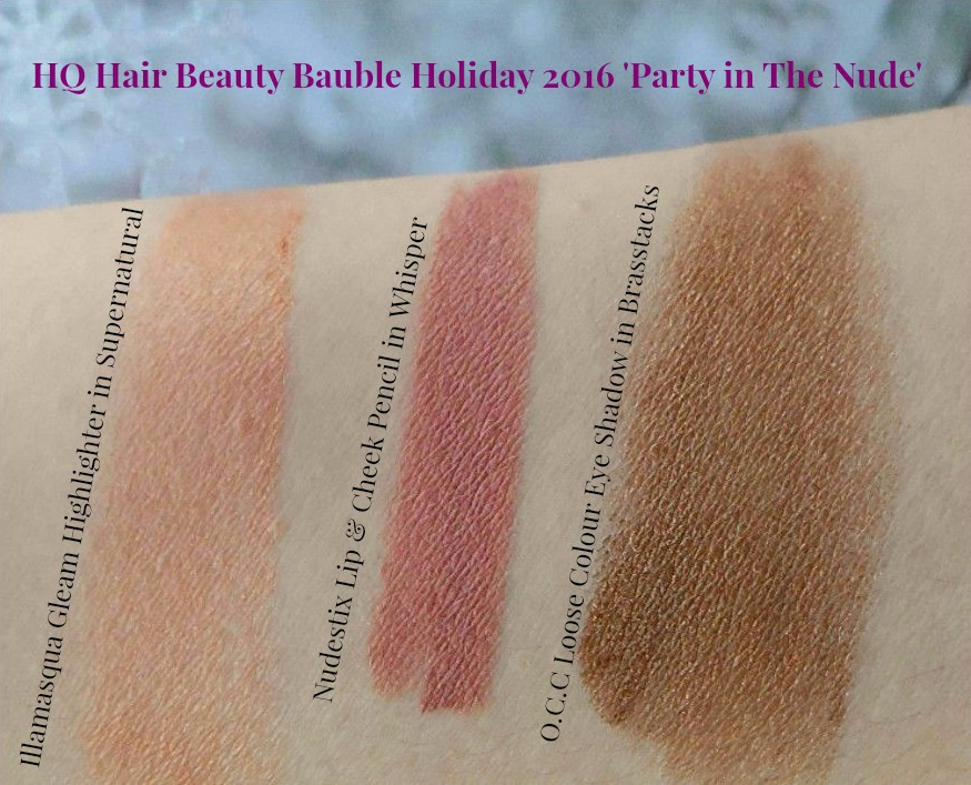 HQ Hair Beauty Bauble Party in the nude swatches