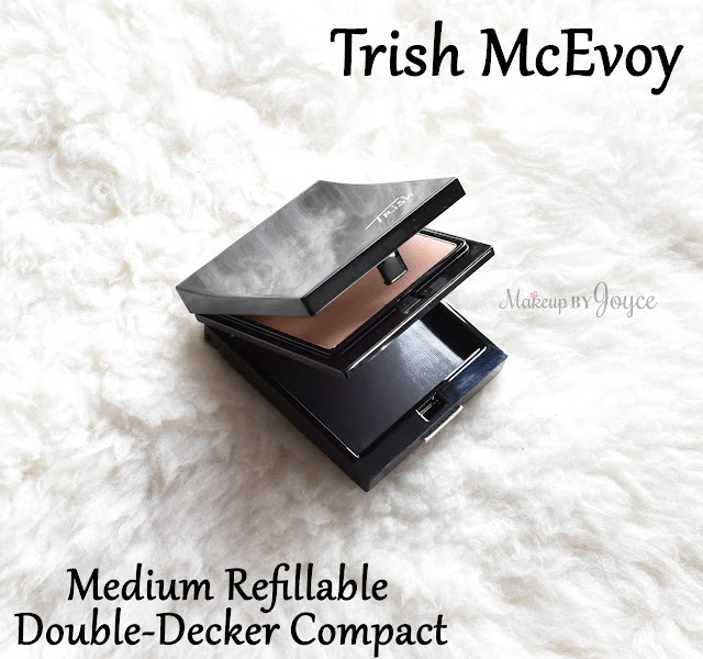 Trish McEvoy Medium Refillable Double Decker Compact Review